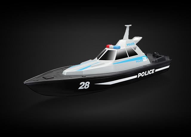 packshot-maisto-tech-r-c-police-boat-bateau-de-police-radiocommande